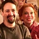 Nice to See You, Deary! Lin-Manuel Miranda Stops by SWEENEY TODD Photo