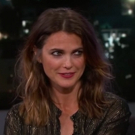 VIDEO: Keri Russell Talks Meeting Matthew Rhys, 'The Americans' and More on Jimmy Kimmel Live