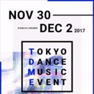 Full Schedule Revealed for Tokyo Dance Music Event