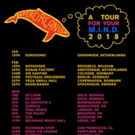 Superorganism Set 2018 North American & E.U. Headline Tour