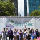 Photo Coverage: Disney Takes Over Broadway In Bryant Park - Performances From FROZEN, THE LION KING, and ALADDIN!