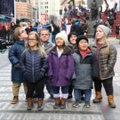 Photo Coverage: The Cast Of 7 LITTLE JOHNSTONS Film Their Visit To Times Square