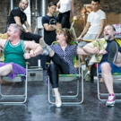 Photo Flash: In Rehearsal with Caroline O'Connor and the Cast of THE RINK Photos