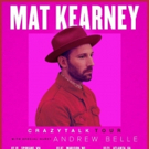 Mat Kearney Announces 2018 Album Title 'CrazyTalk'; Upcoming Tour