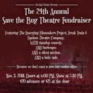 Bug Theatre Hosts 24th Annual Save Save The Bug Theatre Fundraiser