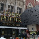 Photo Coverage: Just Like Magic! The HARRY POTTER AND THE CURSED CHILD Marquee Gets Installed!