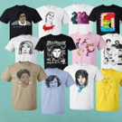 Kathleen Hanna Launches TEES 4 TOGO T-Shirt Line ft. Carrie Brownstein, Patton Oswalt, Joan Jett