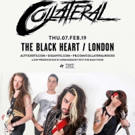Collateral Announce Show At Camden's Black Heart