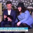 VIDEO: FROZEN's First Female Olaf, Ryann Redmond, Gets a Surprise from Josh Gad