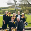 Photo Flash: Gary Barlow, Tim Firth and the cast of CALENDAR GIRLS Visit Yorkshire Photo