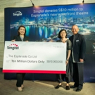 Singtel Donates S$10 Million To Esplanade's New Waterfront Theatre