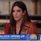 VIDEO: Sandra Bullock Chats Motherhood, Adoption, & OCEANS 8 on TODAY Video