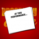 AT THIS PERFORMANCE... Announces Lineup For May 6 Edition