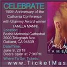 Gospel Legend Tamela Mann to Headline Western Episcopal District's California Conference 150th Anniversary