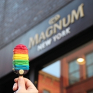 Photo Coverage: MAGNUM NY Offers Free Pride Ice Cream Bar to Support GLAAD