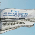 LaToya Ruby Frazier's Flag Speaks For Justice In Flint, Michigan Photo