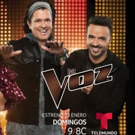 Music Icons Luis Fonsi Alejandra Guzmán, Carlos Vives and Wisin Are Ready For Grand Premiere Of Telemundo's LA VOZ This Sunday