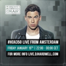 'Hardwell On Air' Radio Hits Landmark 350th Show with 2 hour Livestream from Amsterdam