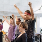 Photo Flash: In Rehearsal with the UK Tour of BILLIONAIRE BOY Photos