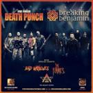 Five Finger Death Punch and Breaking Benjamin: Kick-Off Massive Fall U.S. Arena Tour Photo