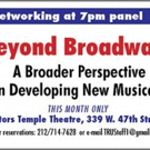 TRU to Host 'BEYOND BROADWAY' December Panel Photo