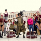 Giffords Circus Perform At Sackler Courtyard, Victoria and Albert Museum Ahead Of UK  Photo