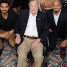 Touring Cast of HAMILTON Stops In with George HW Bush for a Private Performance