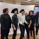 BWW TV: Watch Tony Yazbeck and More Sing 'Into the Fire' in Rehearsals for THE SCARLE Photo
