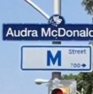 The Neon Lights Are Bright on Audra McDonald Way! Broadway Star Honored by the City o Video