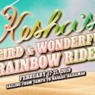 Kesha Announces Her 'Weird & Wonderful Rainbow Ride'