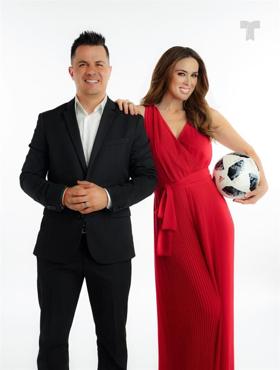 Telemundo Celebrates The World Cup With VIVA EL MUNDIAL Y MAS Hosted By Jacqueline Bracamontes and Karim Mendiburu
