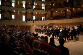 Houston Symphony And Hilary Hahn Perform For Enthusiastic Audience At Philharmonie Essen In Second European Tour Stop
