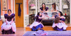 FIVE WOMEN WEARING THE SAME DRESS Now Open at Incline
