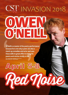 Owen O'Neill Presents RED NOISE at Drexel Hall at the KC Irish Center