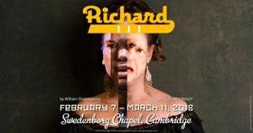 RICHARD III is Coming to Harvard Square's Swedenborg Chapel