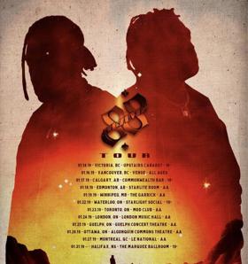 88GLAM Release 2019 Canada Tour Dates