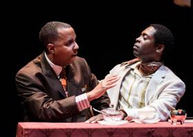 BWW Review: Literary Giants Spar in Mosaic World Premiere LES DEUX NOIRS