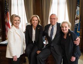 Madeleine Albright, Hillary Clinton, & Colin Powell to Guest Star On the MADAM SECRETARY Season 5 Premiere
