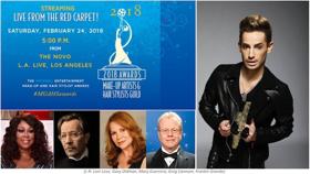 Frankie J. Grande to Host Red Carpet Live Stream at MUAHS Awards, February 24
