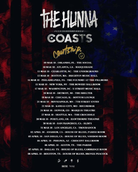 Indie Pop Duo Courtship. To Embark On 2018 Tour Featuring The Hunna and Coasts