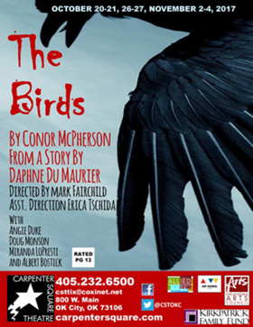 THE BIRDS Opens Tomorrow at Carpenter Square Theatre