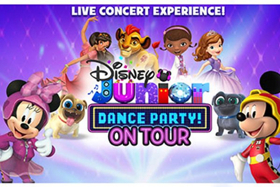 DISNEY JUNIOR DANCE PARTY Comes to Van Wezel