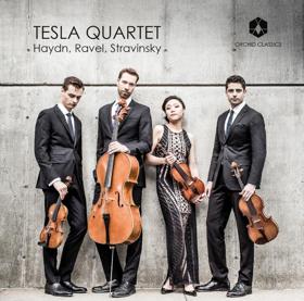 Tesla String Quartet Releases Debut Album Of Haydn, Ravel, And Stravinsky On Orchid Classics