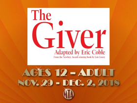 Musical Theatre of Anthem Presents THE GIVER