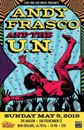 Andy Frasco & The U.N. Announce Frenchman Street Late Night Show