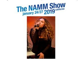 Vaeda Black to Perform at NAMM 2019