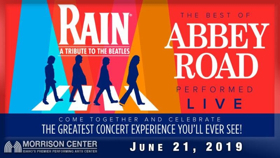 RAIN: A Tribute to the Beatles Comes to Morrison Center