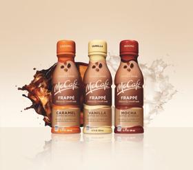 Bottled McCafé Frappés to Celebrate National Coffee Day Saturday 9/29