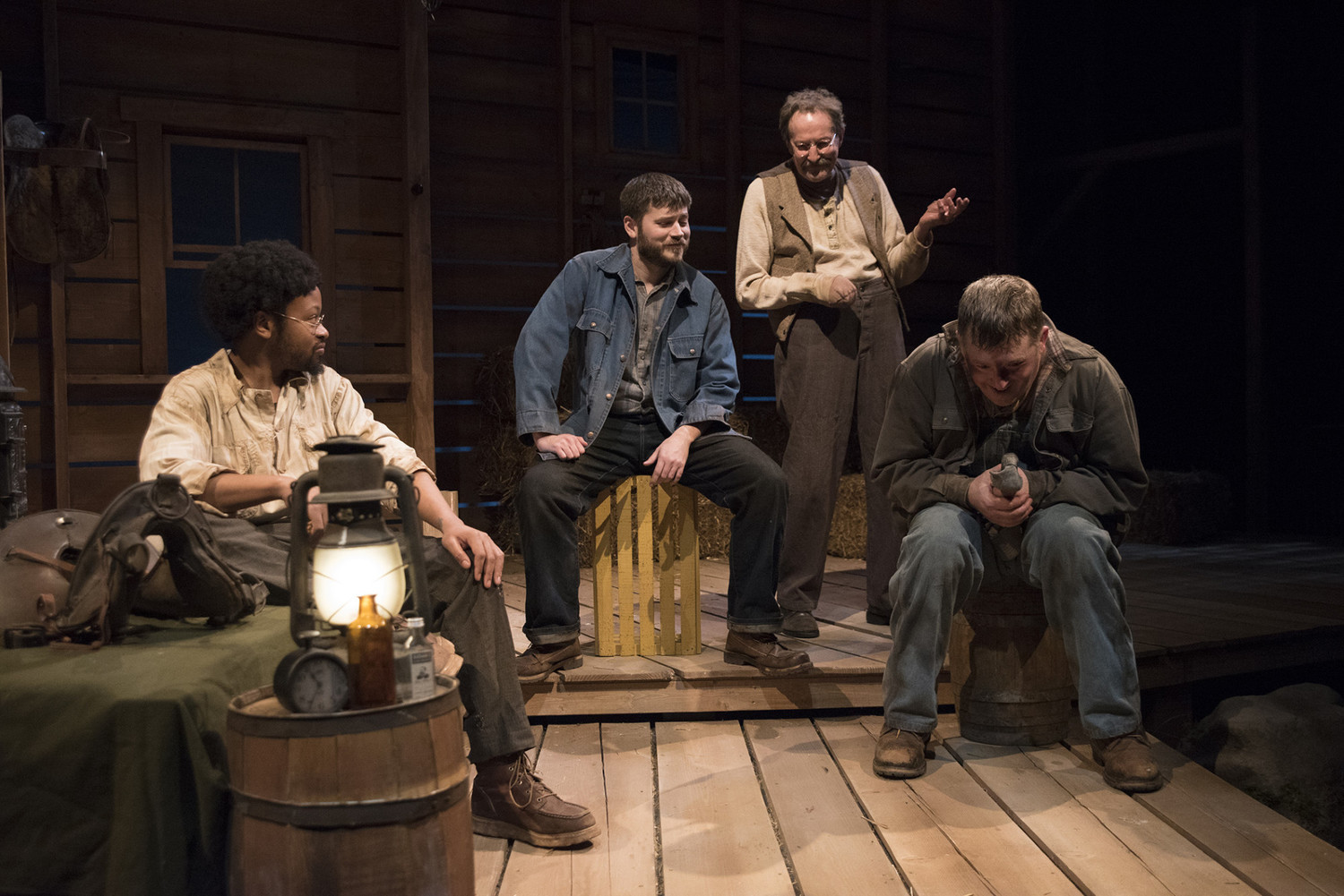 BWW Review: OF MICE AND MEN at Omaha Community Playhouse is Heart-Ripping Brilliance