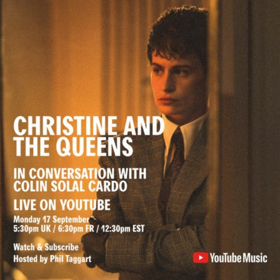 Christine and The Queens Live Q&A Today On YouTube With Video Director Colin Solal Cardo